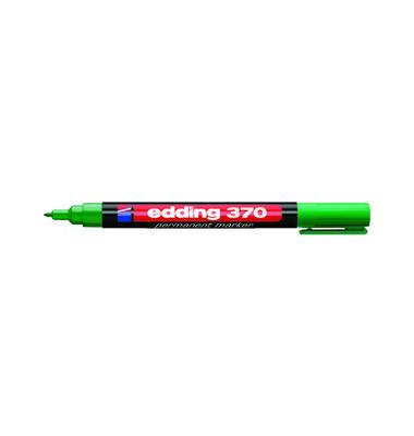Permanentmarker 370 grün 1mm Rundspitze