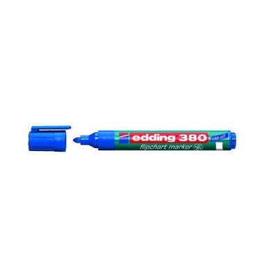 Flipchartmarker 380 blau 1,5-3mm Rundspitze