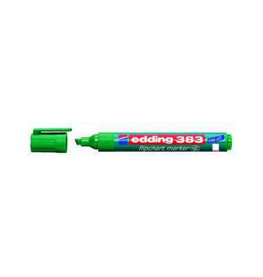 Flipchartmarker 383 grün 1-5mm Keilspitze