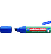Flipchartmarker 388 blau 4-12mm Keilspitze