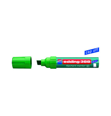 Flipchartmarker 388 grün 4-12mm Keilspitze