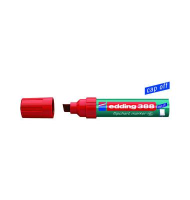 Flipchartmarker 388 rot 4-12mm Keilspitze
