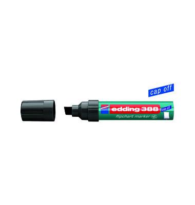 Flipchartmarker 388 schwarz 4-12mm Keilspitze