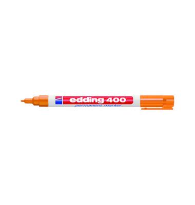 Permanentmarker 400 orange 1mm Rundspitze