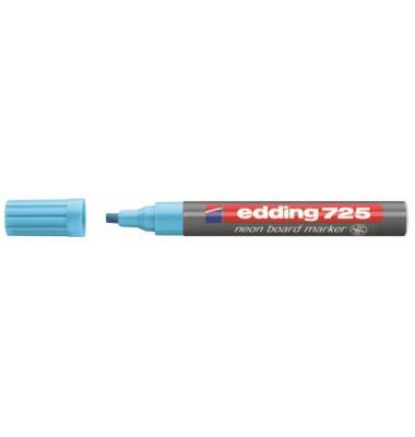 Boardmarker 725 neonblau 2-5mm Keilspitze