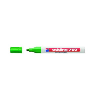 Lackmarker 750 grün 2-4mm Rundspitze