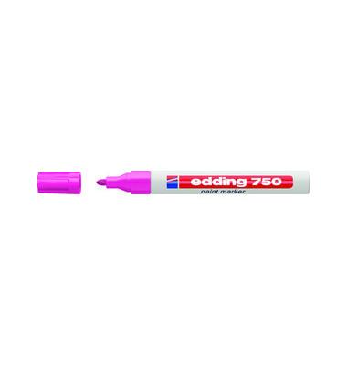 Lackmarker 750 rosa 2-4mm Rundspitze