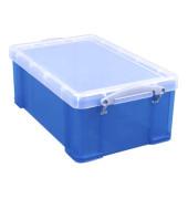 Aufbewahrungsbox stapelbar blau 9 Liter