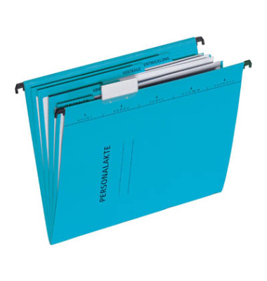 Hängemappe Personalakte 44105 A4 blau 5-teilig
