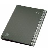 Pultordner 42404 A4 A-Z schwarz 24-teilig