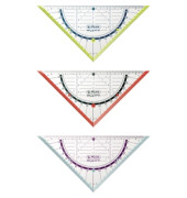Geometriedreieck my.pen 16cm transp.
