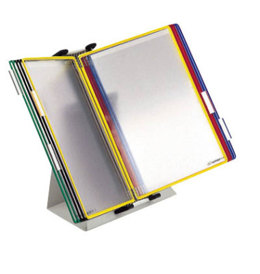 Tischständer m.10 Tafeln sortiert A4 o.offen