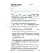 Mietvertrag für Wohnungen 6 Seiten selbstdurchschreibend