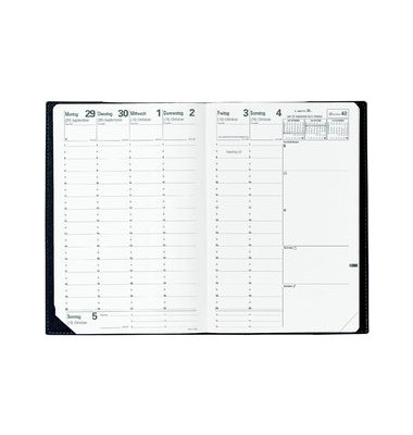 Ersatzkalender Minister 1Woche/2Seiten weiß 16x24cm 2021