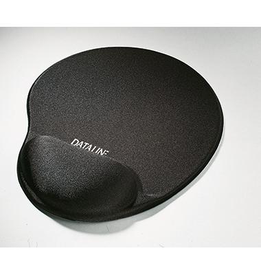 67106 +HANdgelenkauflage EDV Mousepad Gelrest 1 schwarz