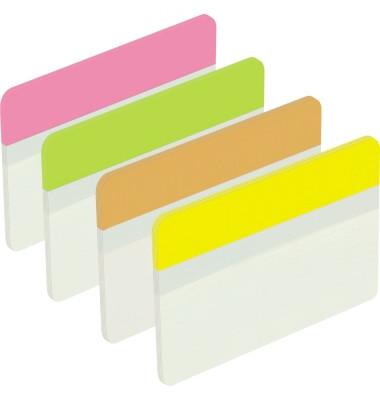 Index Haftstreifen 686-PLOY flach Index 50,8x38mm 4 Farben