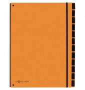 PAGNA 24129-09 Pultordner 12tlg orange