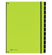 PAGNA 24129-17 Pultordner 12tlg lindgrün