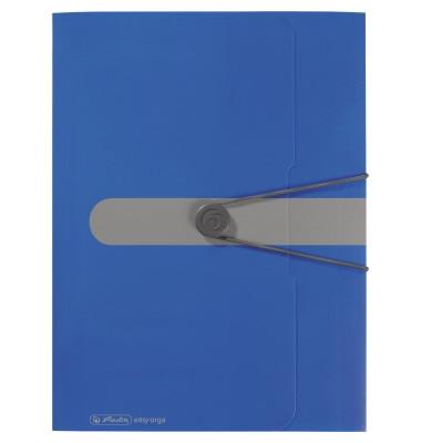 11205994 easy orga Sammelmappe PP A4 opak blau