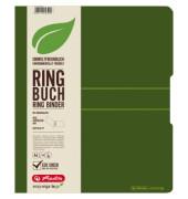 11282597 easy orga Ringmappe A4/2R/25mm d.grün