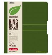 11282720 easy orga Ringmappe A4/4R/16mm d.grün