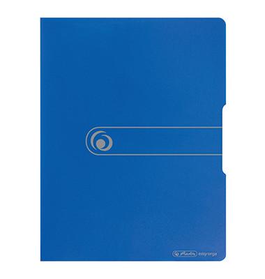 11207826 easy orga Sichthüllenmappe A3 20 blau op