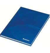 46468 96Bl kariert Notizbuch A5 Business blau