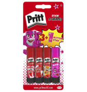 Klebestift Monster Pritt 3+1