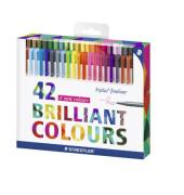 334 C42 42St. Fineliner Triplus Brillant Colours