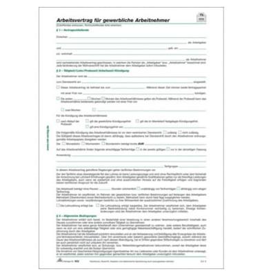 502 f,Gewerbl,Arbeitnehmer Arbeitsvertrag