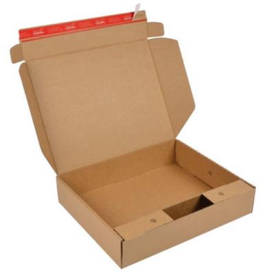 Versandverpackung für Notebook 17 Zoll 490x410x100 mm braun 1 Stück