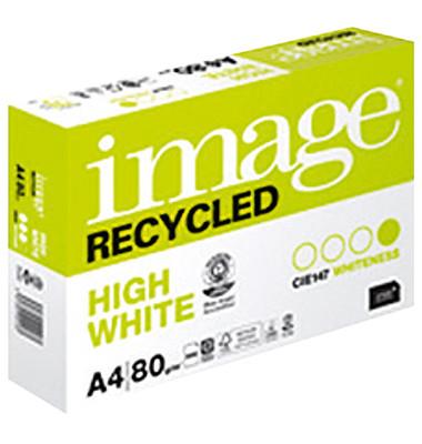 Recycled A4 80g Recyclingpapier weiß 500 Blatt