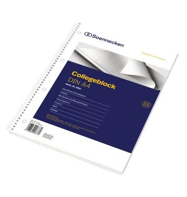Collegeblock 2362, A4 kariert, 70g 80 Blatt, 6-fach-Lochung