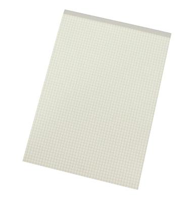 Notizblock 1250 DIN A4 60g 50Blatt RC kariert weiß