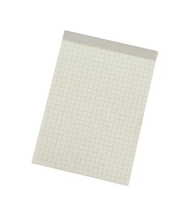Notizblock 1252 DIN A6 60g kariert 50Blatt weiß