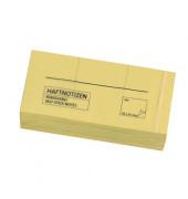 Haftnotiz 38x51mm gelb 100Blatt 12 St./Pack.