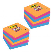 Haftnotiz Super Sticky 654SE9+3 sortiert 12 St./Pack.