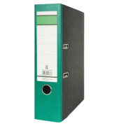 Recycling Ordner A4 Wolkenmarmor grün 80mm breit