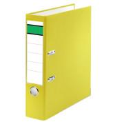 Ordner A4 gelb 80mm breit Kunststoff