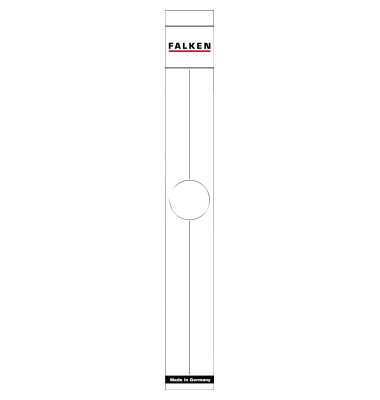 Ordnerrückenschild 11287075 50mm weiß 10 Stück