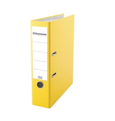3333 gelb Ordner A4 80mm breit