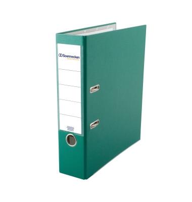 3333 grün Ordner A4 80mm breit