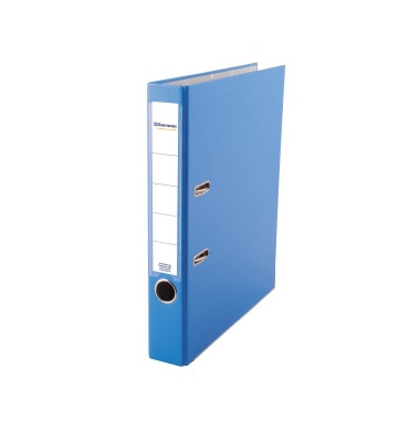 3343 blau Ordner A4 50mm schmal