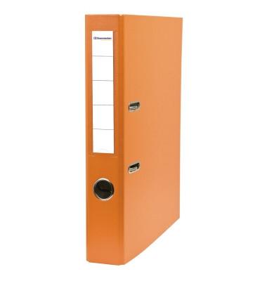 3380 orange Ordner A4 50mm schmal
