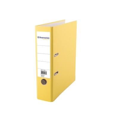 3359 gelb Ordner A4 80mm breit