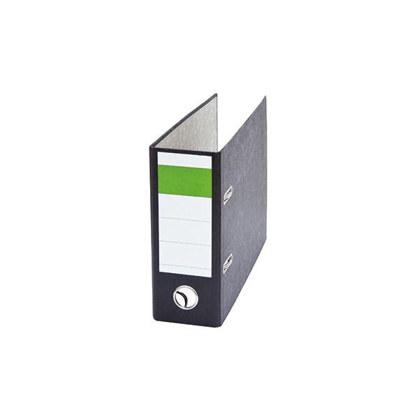 HEAD Ordner DIN A5 quer 75mm Recyclingpapier schwarz