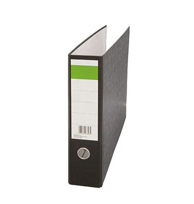Ordner DIN A3 quer 75mm Recyclingpapier schwarz