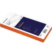 Trennstreifen 1594 orange gelocht 240x105mm 100 Blatt