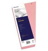 Trennstreifen 1627 Trapez rosa gelocht 240x125mm 100 Blatt
