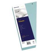 Trennstreifen 1628 Trapez blau gelocht 240x125mm 100 Blatt